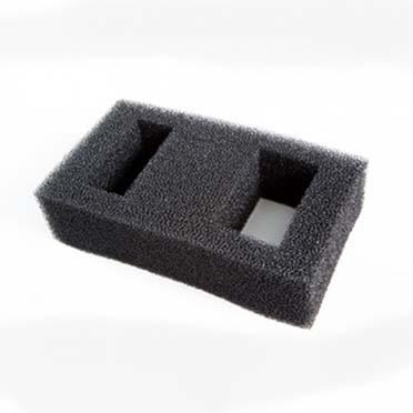 Fl flex/spec replacement foam filter block Black 15gr
