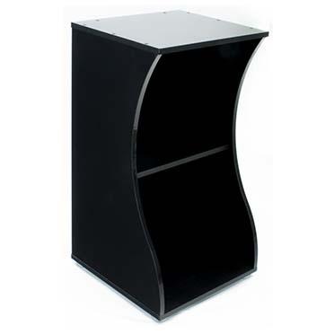 Fluval flex cabinet open Black