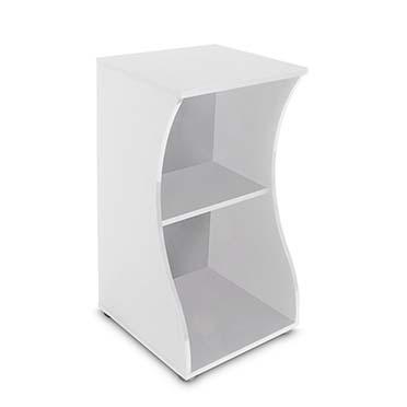 Fluval flex cabinet open White