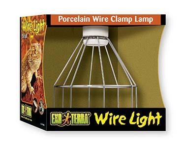 Ex draadlamp met porseleinen fitting tot 150w S