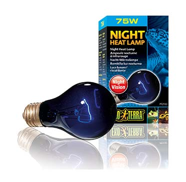 Ex night glo bulb 75w