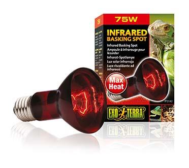 Ex heat glo infrared basking spot 75w