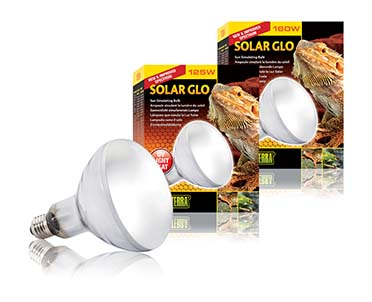 Ex solar glo warmte- en uvb-lamp 125w