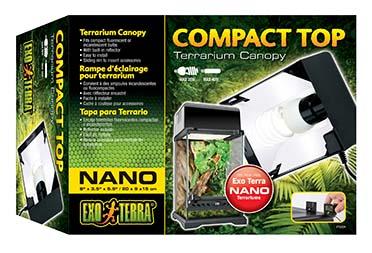 Ex compact top terrariumlichtkap, 20cm NANO