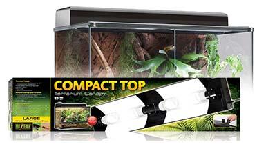 Ex compact top terrariumlichtkap, 90cm L