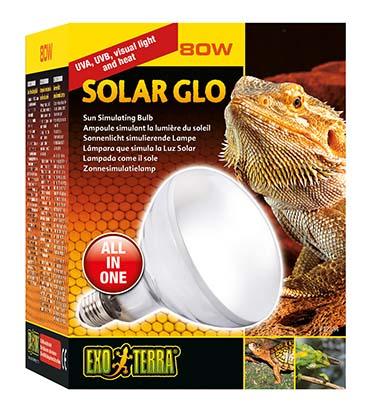 Ex solar glo warmte- en uvb-lamp 80w