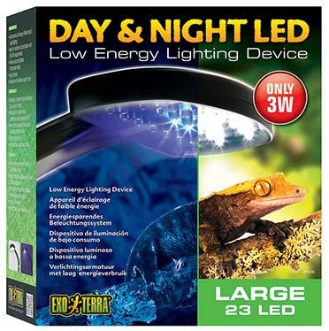 Ex day & night led fixture large  3W