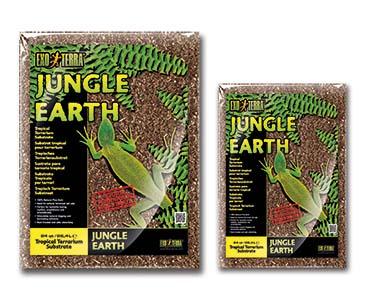 Ex jungle earth natural terrarium substrate  8,8L
