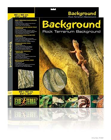 Ex rock terrarium background  60x60CM