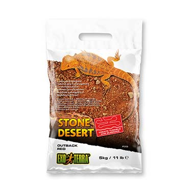 Ex stone desert substrate outback red Red 5kg