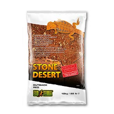 Ex stone desert substrate outback red Red 10kg