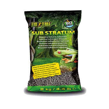 Ex frog bioactive volcanic substrate  2kg - 28x15x8cm