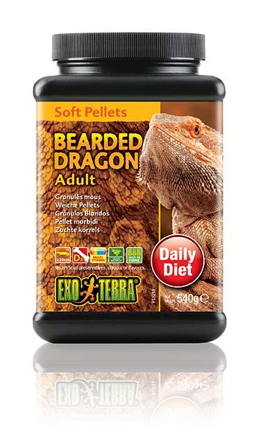 Ex soft pellets volwassen baardagamen 540GR