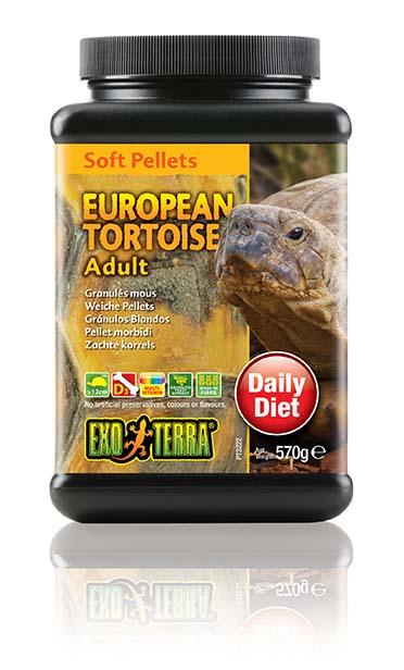 Ex soft pellets volwassen europese schildpad 570GR