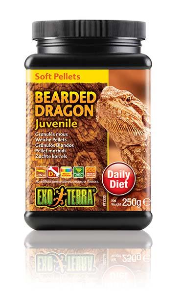 Ex soft pellets jonge baardagamen 250GR