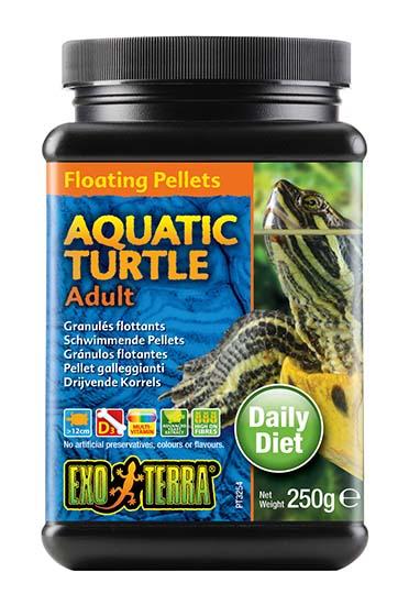 Ex drijvende pellets volwassen waterschildpad 250GR