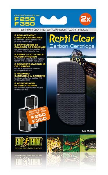 Ex repti clear f250 carbon cartridge