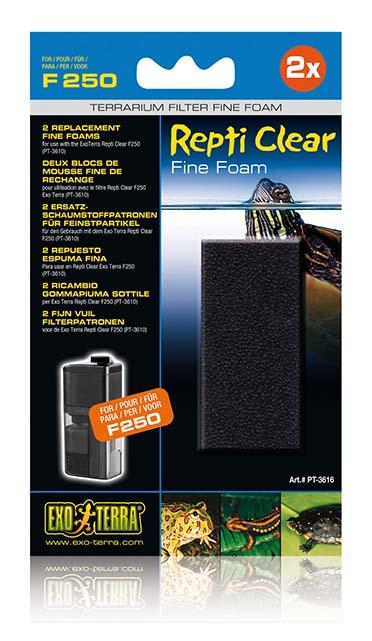 Ex repti clear f250 fine foam