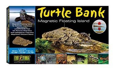 Ex turtle bank magnetic floating island  L