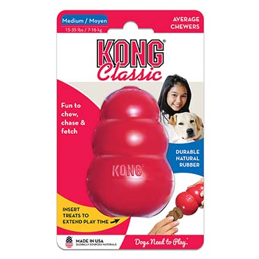 Kong classic Red M