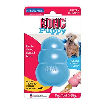 Kong puppy Mixed colors M