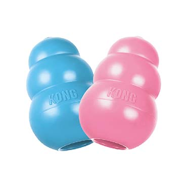 Kong puppy Mixed colors S
