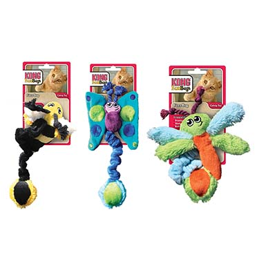 Kong cat fuzzbugs assortiment