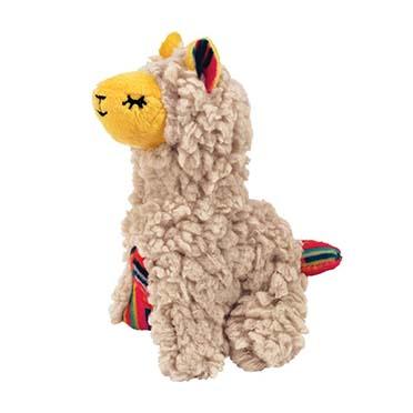 Kong cat softies buzzy llama Beige 10x15,5x8,26cm
