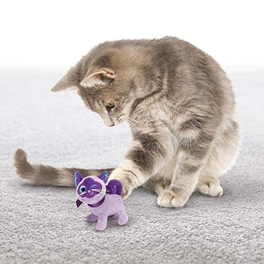 Kong cat crackles winkz cat