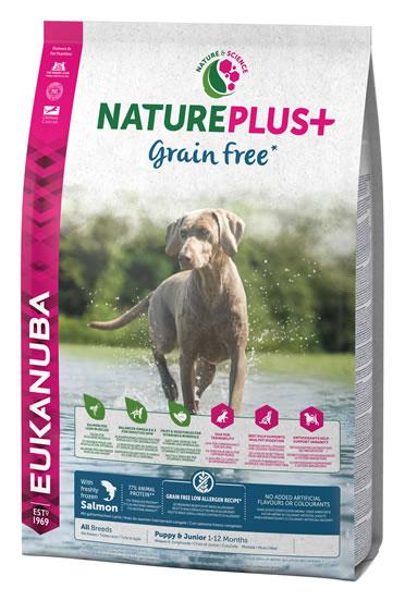 Dog nature puppy grainfree salmon  2,3KG