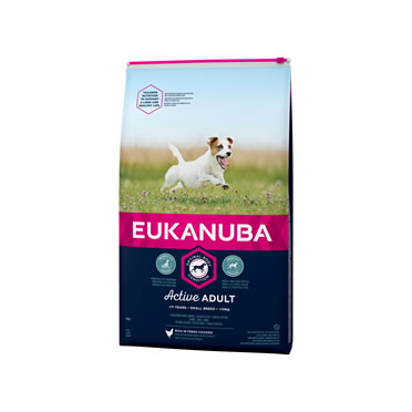 Euk dog active adult small breed  3kg