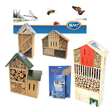 Concept duvo+ insect hotel