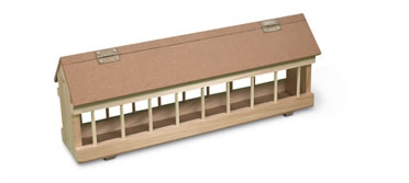 Wooden feeder for pigeon  60CM