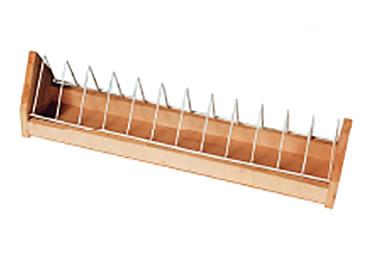 Wooden feeder with tilting grid  120CM
