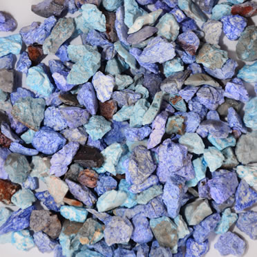 Aquarium gravel mix Blue 6-8MM/0,9KG