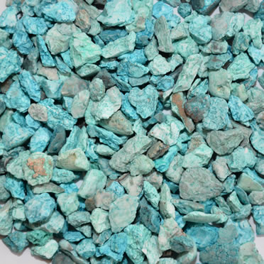Aquarium gravel mix Green 6-8MM/0,9KG