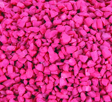 Aquarium gravel Pink 3-5MM/1KG
