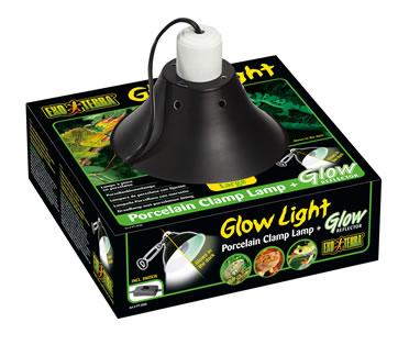 Ex clamp lamp porcelain glow light  Ø25CM
