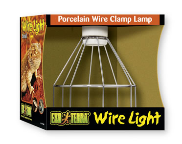 Ex porcelain clamp lamp wire light, 150w  S