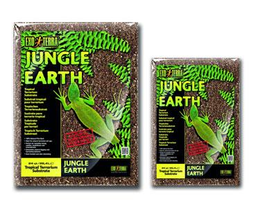 Ex jungle earth natural terrarium substrate  26,4L