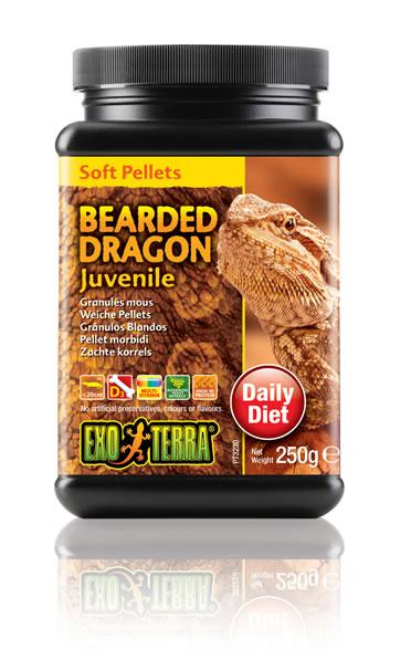 Ex soft pellets bearded dragon juvenile  250GR