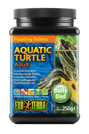 Ex aquatic turtle floating pellets adult  250GR