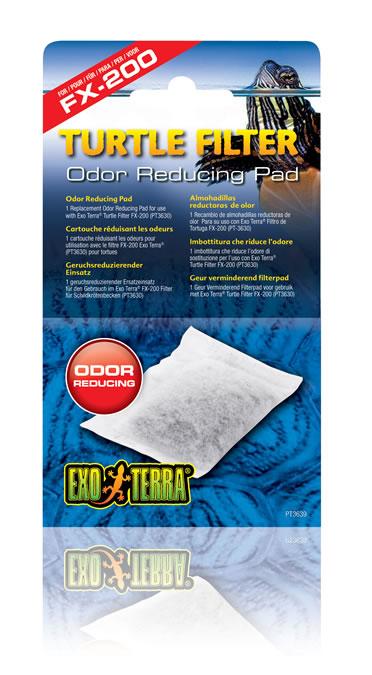 Ex turtle filter odor reducing pad fx-200