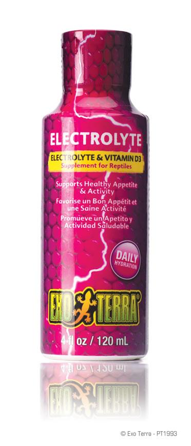 Ex electrolyte & vitamine d supplement 120ML