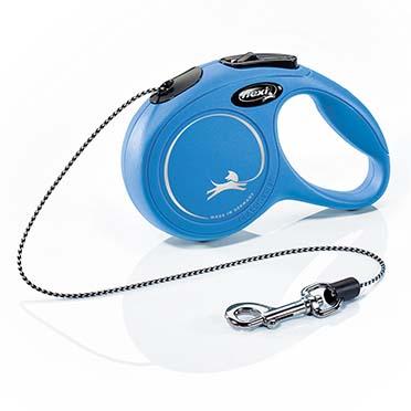 Flexi new classic corde Bleu XS/3M
