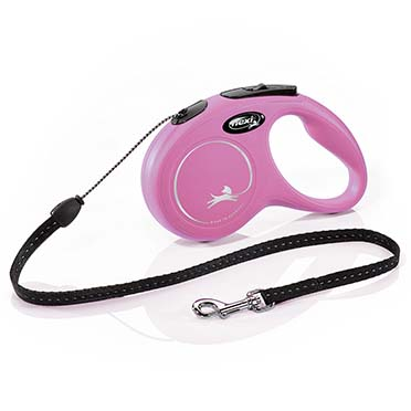 Flexi new classic cord Pink S/5M