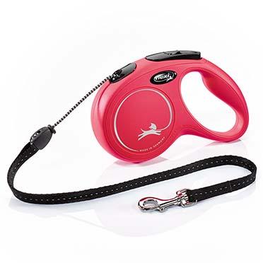 Flexi new classic corde Rouge M/5M