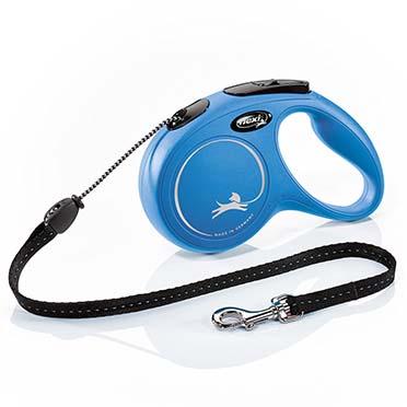 Flexi new classic corde Bleu M/5M