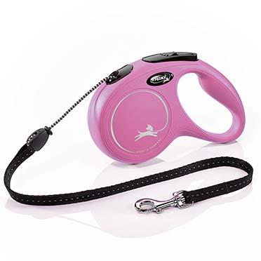 Flexi new classic cord Pink M/5M