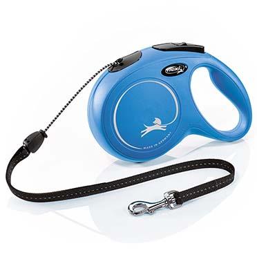 Flexi new classic corde Bleu M/8M